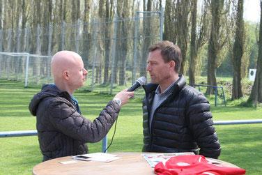 Ingo Anderbrügge im Interview. Foto: DIrk Hantrop
