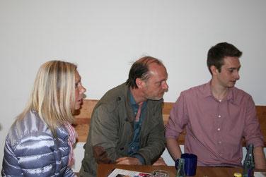 Elke Fleckhaus, Martin Brambach und Geschäftsfüherer Felix Wutschka. Foto: Dirk Hantrop