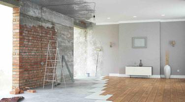 Sanierung von Gebäuden