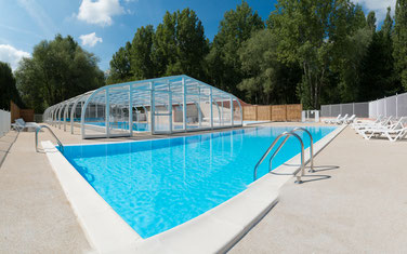Camping Sites & Paysages Les Saules à Cheverny - Loire Valley - Notre Espace Aquatique