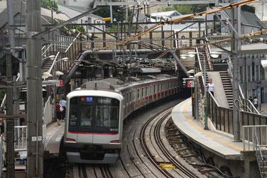 Bahnnetz in Tokyo