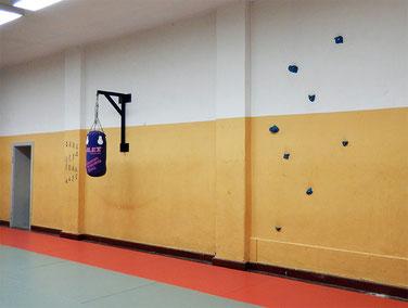 Trainingsgeräte im Dojo