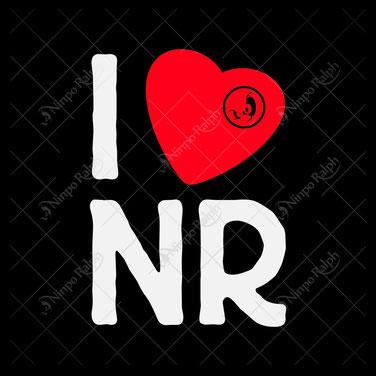 Shirtmotiv I Love NR