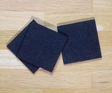Platten aus Gummi-Matte