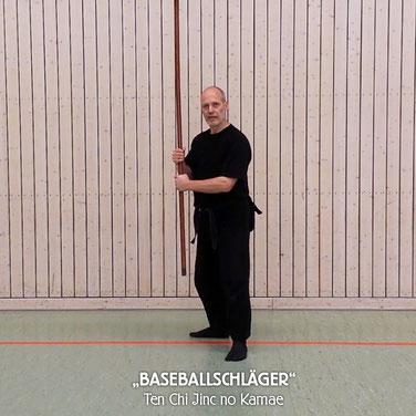 Eselsbrücke Baseballschläger