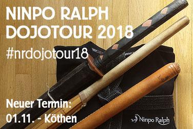Neuer DojoTour-Termin