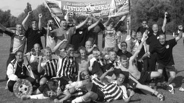 Die Meistermannschaft der Spvgg Lahr 2008