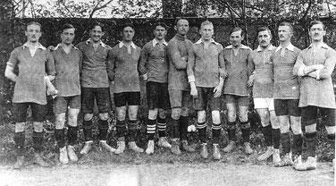 1.Mannschaft des Lahrer FV in der Saison 1912/13
