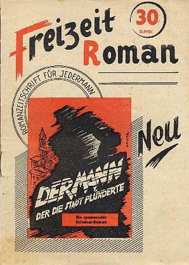 Freizeit Roman 1