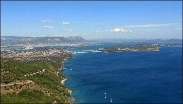 Les sablettes, La Seyne, St Mandrier; Toulon