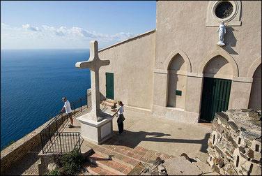 Sentier du littoral au Cap Sicié