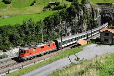 Bahnfoto Schweiz SBB Re 4/4II P.Trippi
