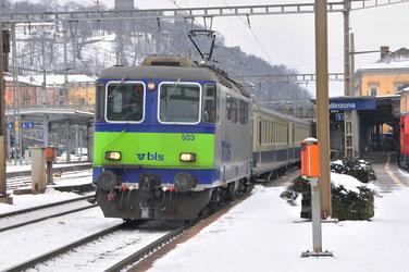 Bahnfoto Schweiz BLS Re 420 P.Trippi