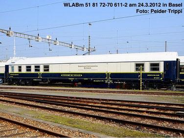 Tramways.at -                                                                    Compagnie Internationale des Wagons-Lits (CIWL)  4803 Foto P.Trippi