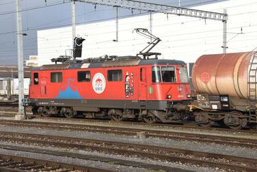 Bahnfoto Schweiz SBB Re 420 Knie P.Trippi