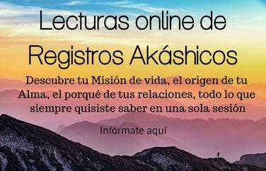 Lectura de Registros Akáshicos online a distancia