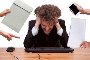 過労死 パワハラ たくさんの指示 ストレス