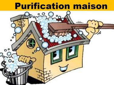 Purification maison - Nettoyage entités - Le pèlerin bien-être.fr