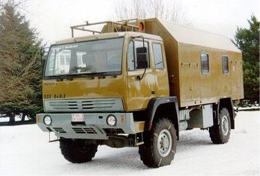 Steyr-TANAX Aktis 4x4 Mk1