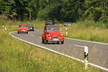 Jährliche Ausfahrt auf dem Elmdrive-Treffen / Foto: Heiko Hinze