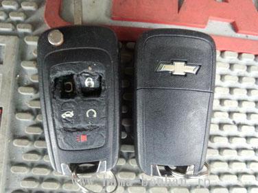 Broken key&new key