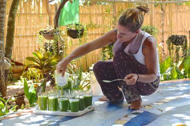 2 Weeks Itinerary Palawan - Green smoothies