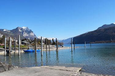 Die schönsten Seen in der Schweiz - Walensee