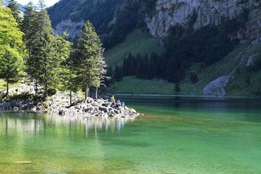Die schönsten Seen in der Schweiz - Seealpsee