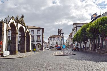 Azores, Sao Miguel: 7-Day Itinerary - Portas de Cidade in Ponta Delgada