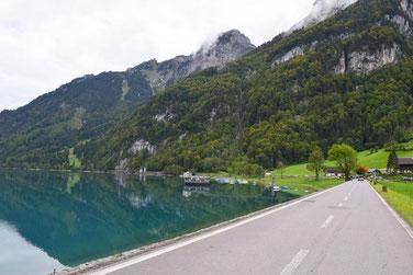 Die schönsten Seen in der Schweiz - Klöntalersee