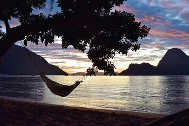2 Weeks Itinerary Palawan -Resort outside of el Nido town