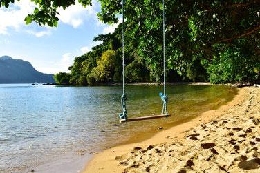 2 Weeks Itinerary Palawan - Resort outside of el Nido town