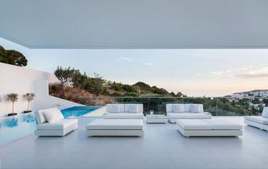Sonnenwetter Lounge-Möbel Bari