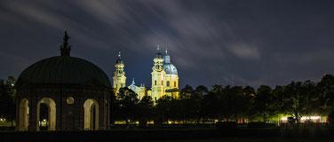 tourisme - Hofgarten, jardin de la résidence des princes de Bavière