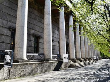 L´Haus der Kunst est un musée d´art moderne de Munich.