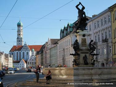 La ville d'Augsbourg est un site touristique de premier plan en Bavière.