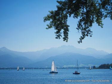 Le lac de Chiemsee est incontournable en Bavière.