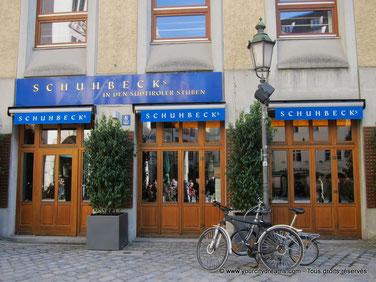 Schubeck in der sudtiroler Stuben, restaurant gastronomique à Munich