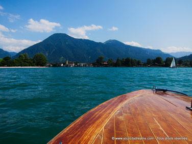 Le lac de Tegern (Tegernsee) est parfait pour les amoureux. Son atmosphère idylique est idéal pour des voyages romantiques.