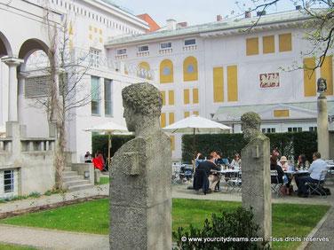 La Villa Stuck est splendide musée d´art à Munich.