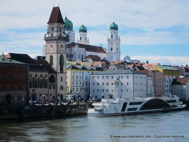 La ville de Passau est l´une des plus anciennes d´Allemagne.