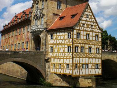 Bamberg est une ville bavaroise particulièrement romantique.