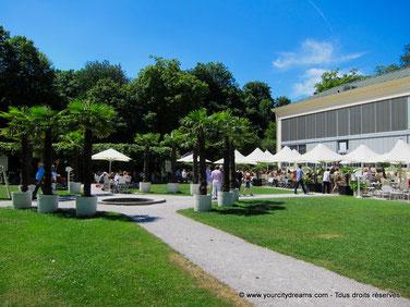 Café à Munich - Palmenhaus