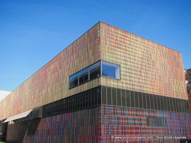Le musée Brandhorst de Munich expose des oeuvres d´art modernes.