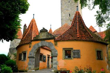 cité fortifiée Rothenburg