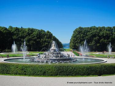 Parc château Chiemsee