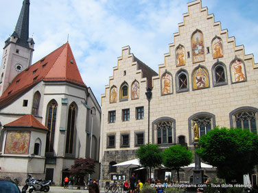 Tourisme - Visitez la ville de Wasserburg au sud de Munich.