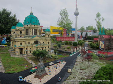 Le parc d'attraction de Legoland, paradis pour les enfants, est une destination familiale.