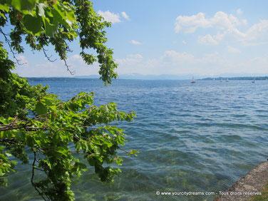 Le lac de Starnberg (Starnbergersee) est une déstination appréciée par les familles.