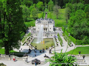 Visitez le Château de Linderhof, l´un des chefs d´oeuvre du roi Louis II de Bavière.
